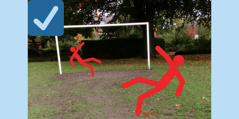 Please support our plan to rejuvenate the playing field