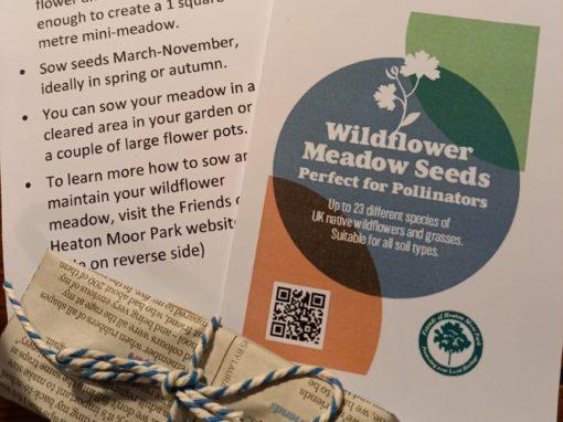 Make a Wildflower Meadow Roll